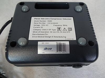 Drive Medical Power Neb Ultra Compact Compressor Nebulizer Model 18080 Adult/Kid