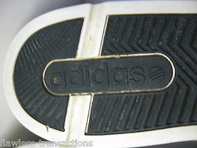 ADIDAS NEO CALSHOT White Black Tennis Skate Padded Traction Shoes Size Mens 13 10