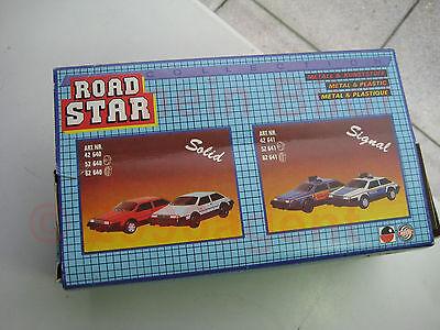 Blechspielzeug NOS Mechanische Spielwaren Brandenburg MSB tin car Road Star DDR