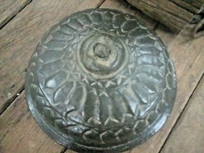Antique Great Calligraphy Carved Copper Islamic Mughal Religious Big storage Box 5