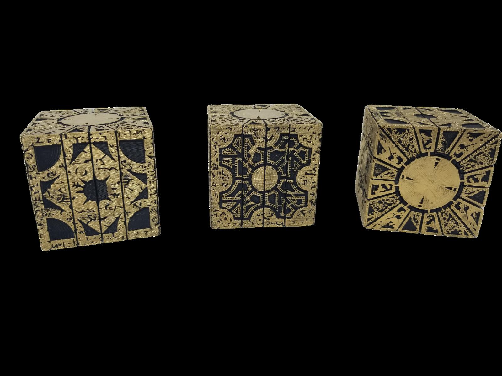 Hellraiser Cube Puzzle Box Lament Configuration  Functional Pinhead Prop Horror 6