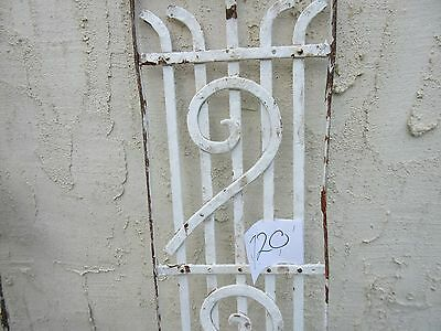 Antique Victorian Iron Gate Window Garden Fence Architectural Salvage #720 3