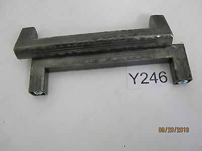 5 QTY Vintage Steel Cabinet Drawer Pull 6'' OAL, 5.45'' Center to Center 3 • CAD $50.39