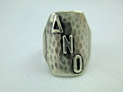 Antique Arts & Crafts Chicago Art Silver Shop Sterling Silver Ring 1912-34 219B 3