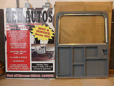 Bearmach Land Rover Glazed Rear Back Safari Door 90 110 Defender Series II III 3 2