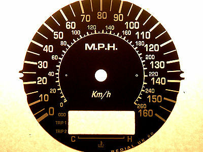 Suzuki Dl1000 Vstrom V-Strom 2002-03 Replacement Mph Speedo Clock Dial Underlay 2