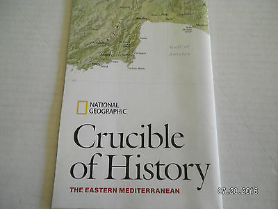 "3  Maps From  National Geographic Society.""Celtic, Mediterranean, Crucible"" 3"
