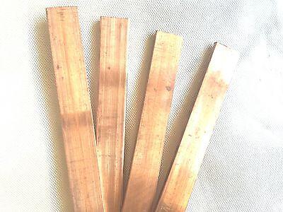 1pcs 99/% Copper T2 Cu Metal Flat Bar Plate 3mm x 15mm x 500mm
