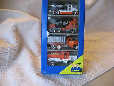 Hot Wheels Road Repair Gift Pack #17460 mattel