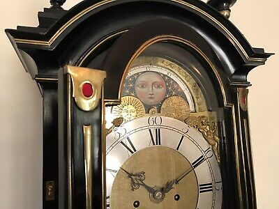 Blagden Chichester 18thc  Longcase in The Form of a Bracket Clock on Pedestal 10