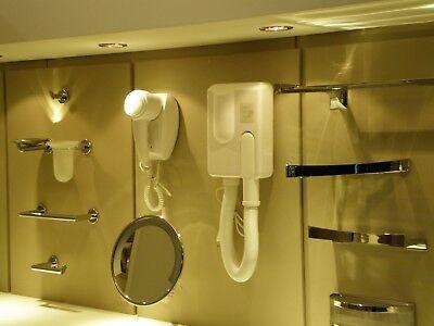 Asciugacapelli da parete a muro per hotel albergo alberghi