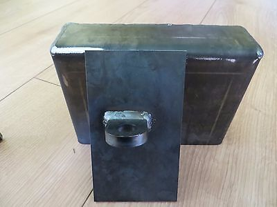 Shipping Container Weld On Lock Box Right Hand Opening Door Security With Lock 4