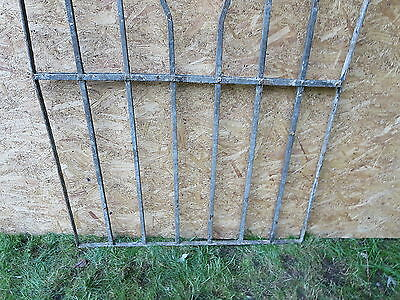 Antique Victorian Iron Gate Window Garden Fence Architectural Salvage Door WWW 2