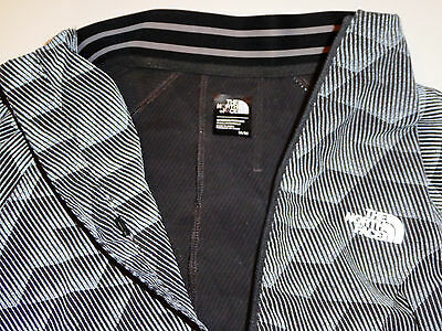 ae78e0f01 THE NORTH FACE RAPIDO MODA REFLECTIVE Running Cycling Safety Jacket Grey S  M Med