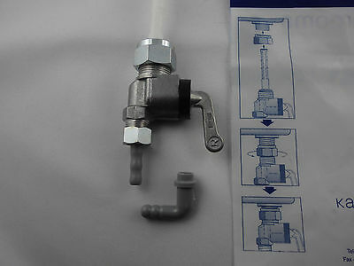 "Robinet d/'essence KTM Bora 50 m16x1 1 A Qualité /""made in Germany/"" fuel tap"