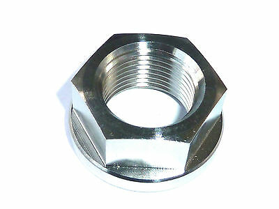 Triumph Tiger 1050 2006-14 REAR AXLE FLANGED NUT TITANIUM M18X1.5 SWINGARM R2C8