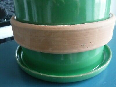 Vintage Green Italy Planter 8