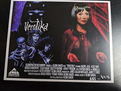 VEROTIKA - Throwback 70's Style LOBBY CARDS LTD Edition 1-666 Danzig Horror 3