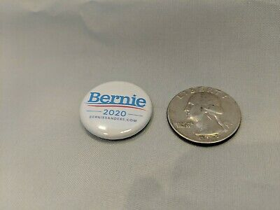 "Bernie Sanders 2020 Buttons/Pin Set Of 10, 1"" diameter pins. Free Shipping 3"