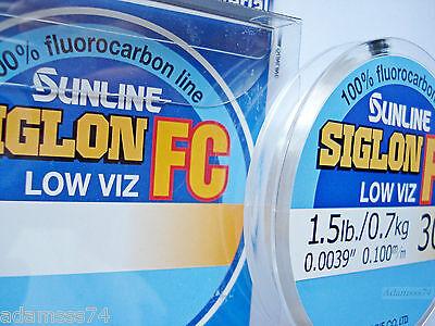 Sunline Siglon FC Fluorocarbon Linie 50m 38lb Diameter 0.55 mm 5945