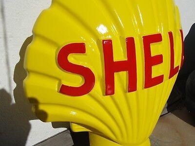 RETRO FIGUR SHELL MUSCHEL WERBEFIGUR REPLIKAT TANKSTELLE AUTO STATUE SKULPTUR