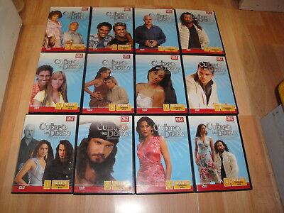El Cuerpo Del Deseo Telenovela Completa De Tv Con 12 Discos En Dvd Buen Estado 2