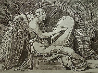 Adamo Scultori ´viktoria; Victory; La Vittoria´ B. 105, Kupferstich, ~1565 3