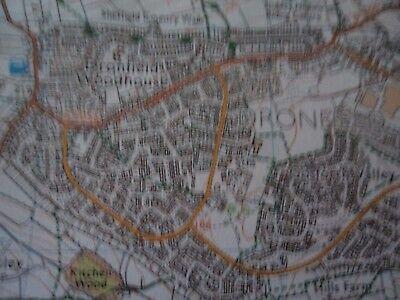 Ordnance Survey map Outdoor Leisure Peak District 2007 Matlock Buxton Bakewell 10