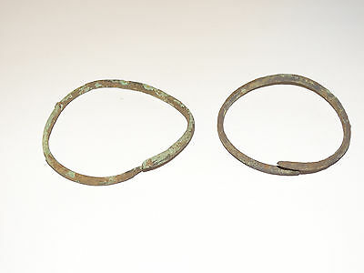Perfect  Bronze Migration Period Bracelets.  The Nomads.Hunnu.  ca 3-6 AD. 2