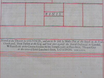 1680 Oxford First Folio King James Bible Leaf *john 14:6 I Am The Way& The Truth 6