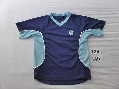 ♥ SPORT - SHIRT ♥ Stretch Sportshirt Fußball Schulsport Vereinsport Gr 134 140 2