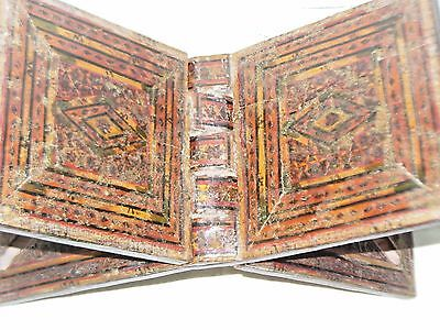 BOOK STAND  KOREAN FOLDING BOOK HOLDER MOSAIC ISLAMIC MIDDLE EAST 18th CENTURY 3