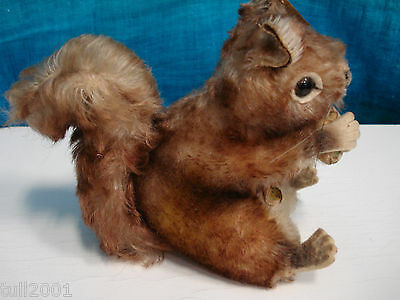 Steiff Eichhörnchen Ca 25 Cm Hoch Sonstige Antikspielzeug