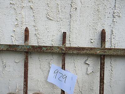 Antique Victorian Iron Gate Window Garden Fence Architectural Salvage #929 4