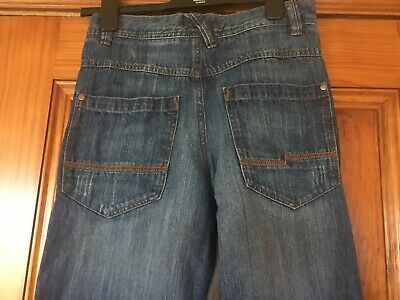 Next Boys Age 12 Blue Jeans Height 152cm in Great Condition 100% Cotton 4