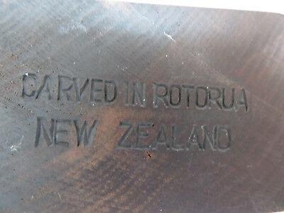 Wood Carving Totem Figurine Statue Neew Zealand 7