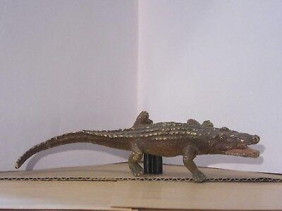 Altes Elastolin-Krokodil Zootier Lineol ca.30er Jahre SAMMLER
