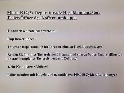 NISSAN MURANO I Rep-Satz Taster Schalter Heckklappe Hinten Z50 2004-2008
