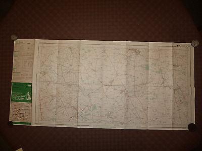 "Ordnance Survey 2.5"" Map SE46/56 Tollerton 1984 Inc. RAF Linton on Ouse, Huby. 2"