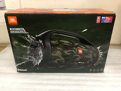 Jbl Boombox Squad 60W Portable Bluetooth Wireless Speaker Camo Rechargeable New 2