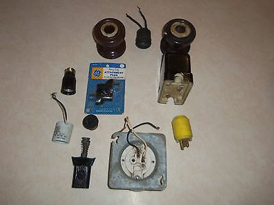 Large Lot of Used Early Electrical Items 5