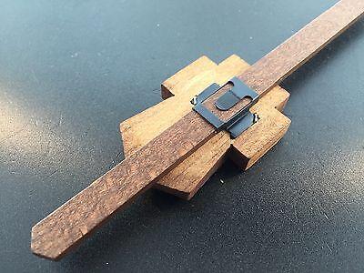 Cuckoo Clock Pendulum Small Hand Painted Chalet Shield German 3