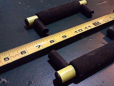 "6Dd43 2Pk Steel Handles, Foam Grips, Plastic Offsets, 6-1/2"" Long With 1"" Clear"