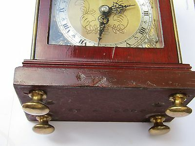 Vintage/Antique  Collectable by Mappin & Webb Scott Elliot Bracket Clock 9