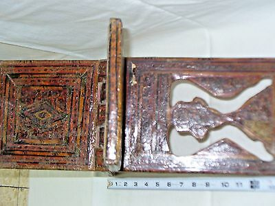 BOOK STAND  KOREAN FOLDING BOOK HOLDER MOSAIC ISLAMIC MIDDLE EAST 18th CENTURY 5