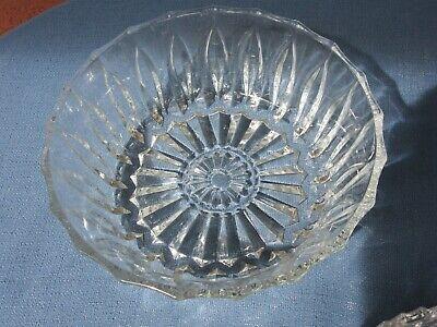 3 Schöne ältere Glasschalen  Kristall, Glas, Klar, schwere Ausführung 3