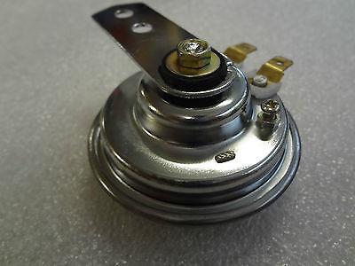 Hupe, klein, Chrom , Horn, 6 Volt Gleichstrom, 1,5 A, 70mm Durchmesser, 100 db