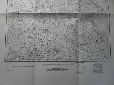 Landkarte Meßtischblatt 2860 Fürstenau i.d. Neumark / Barnimie, Arnswalde, 1934