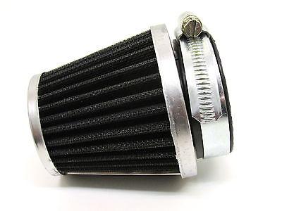 35-37mm 180 Grad Luftfilter Tuning Renn Sport Mofa Moped Mokick Roller Carbonloo