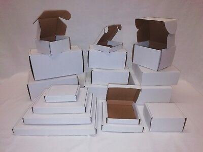 Single Wall Postal Cardboard Boxes, Small Mailing Shipping Cartons 2